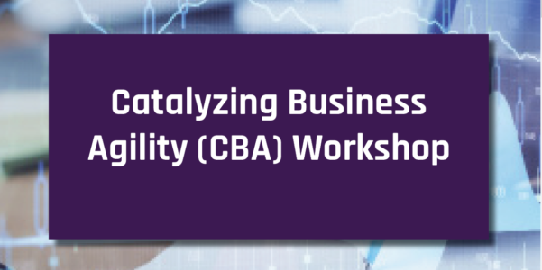 Catalyzing Business Agility 2 Day Workshop