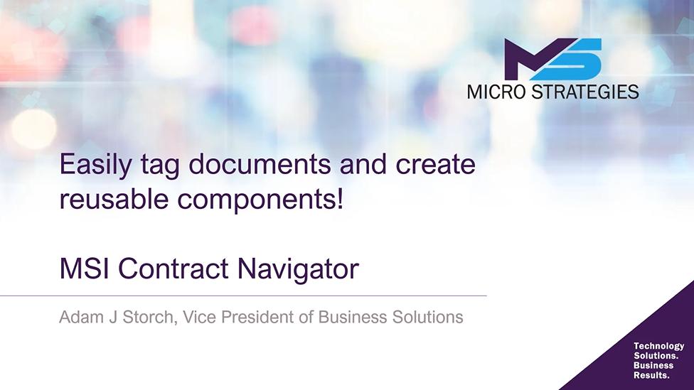 Contract Navigator