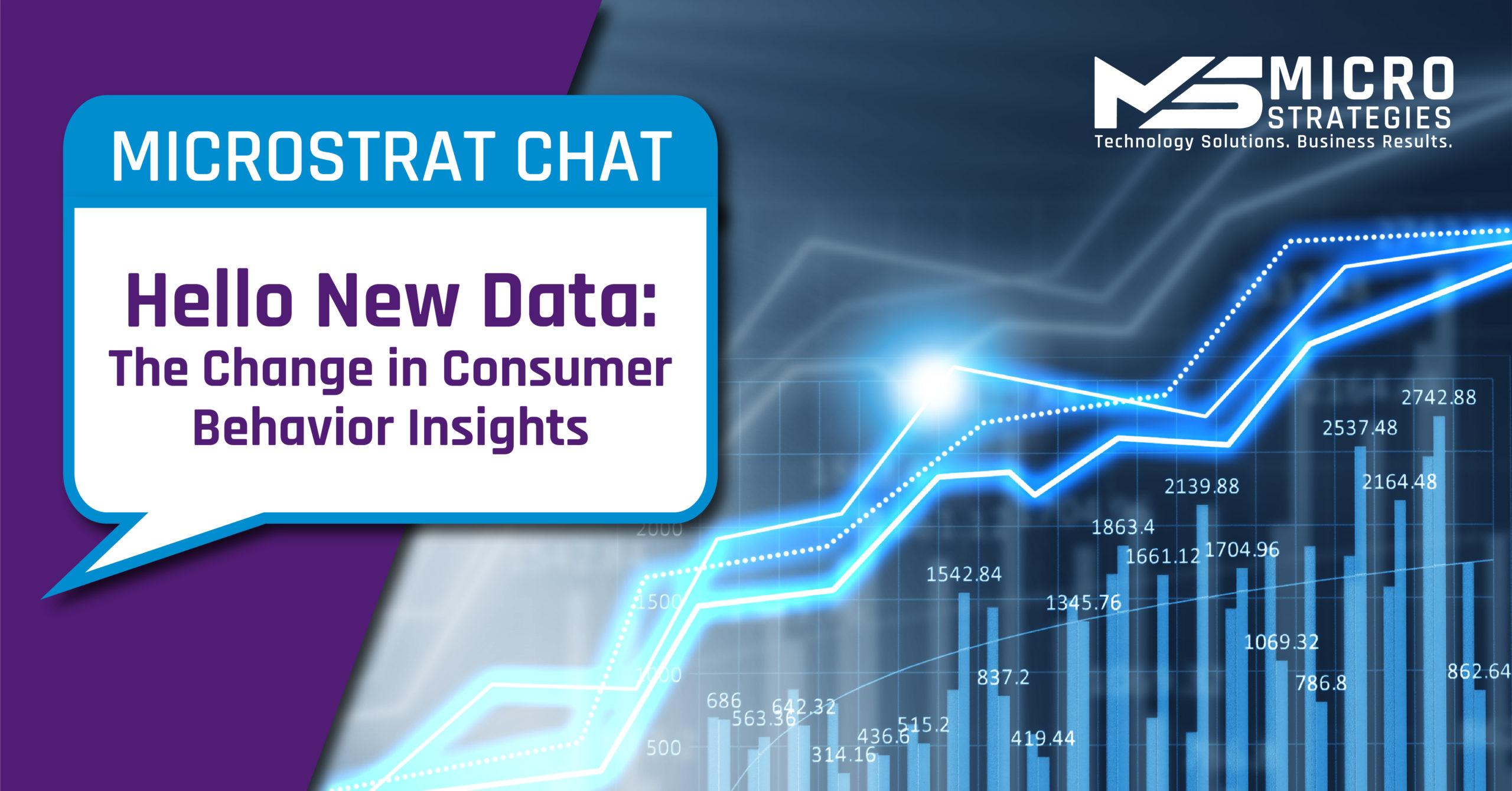 Hello New Data: The Change in Consumer Behavior Insights